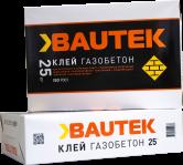 "Клей газобетон ""Bautek"" 25кг"