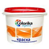 """Краска """"Colorika Aqua"""" супербелая шелковистая моющаяся"""